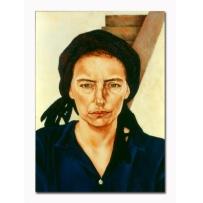 Julia Teale, Portrait of Elrena 1989