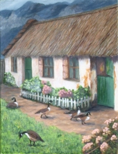 French country cottage, Avril Kelley